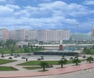乐至县陈毅广场
