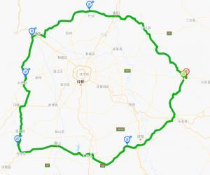 川西环线(四川省道S106)