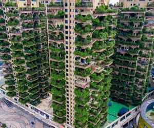 成都建成的城市森林花园